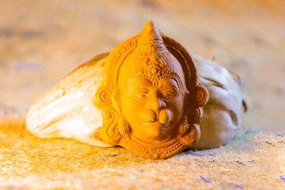 Semman Terracotta Mask